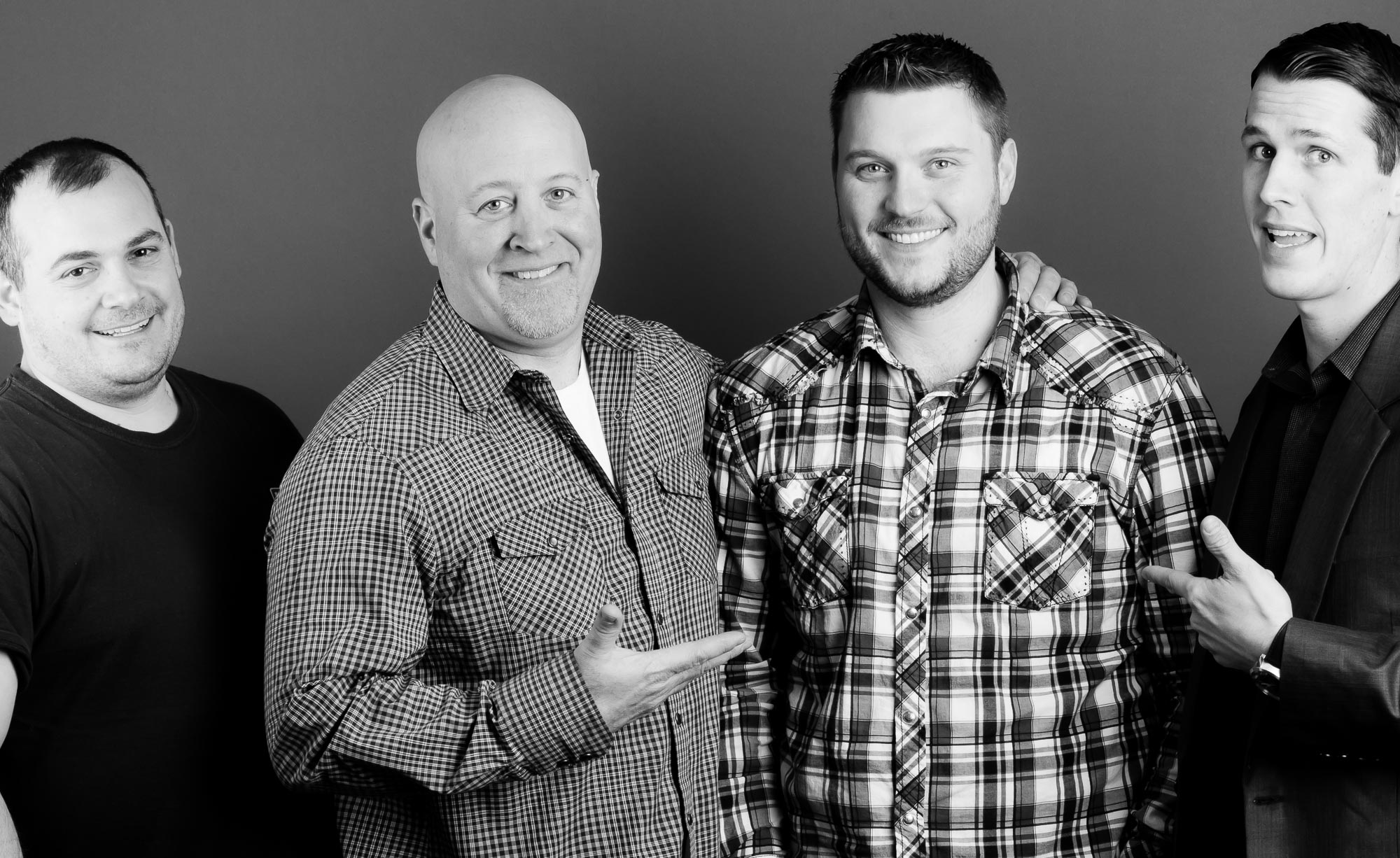 Co-workers Portrait | Construction Company Website | Seattle