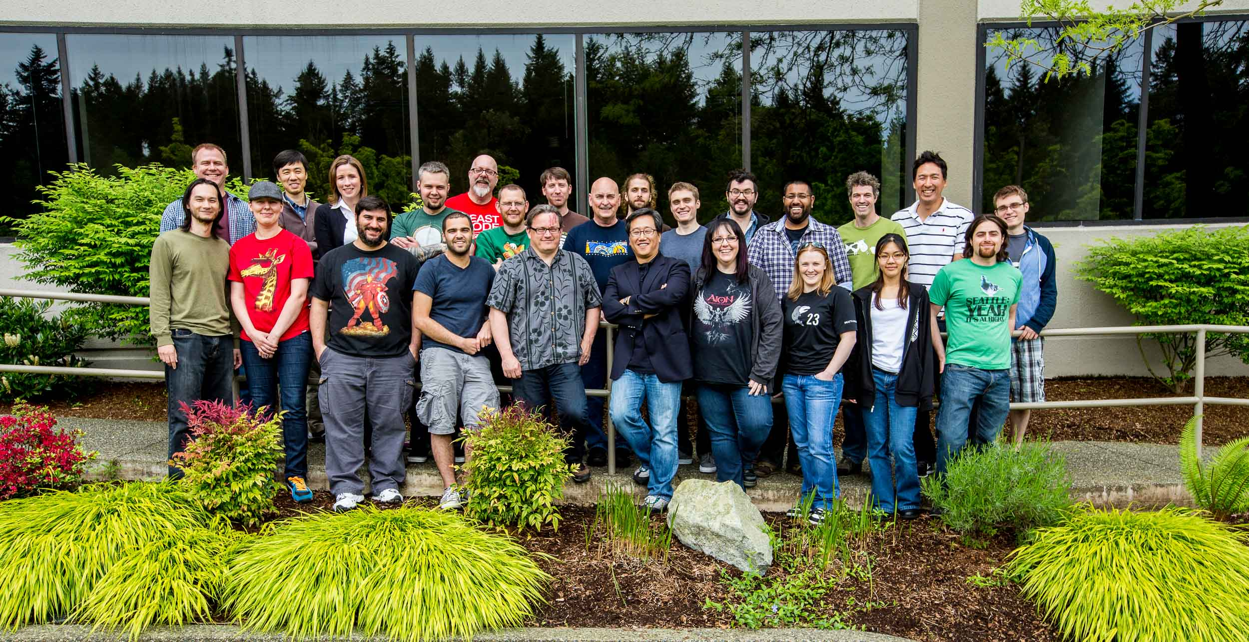 Team Portrait series of a Seattle Game Studio : Bellevue