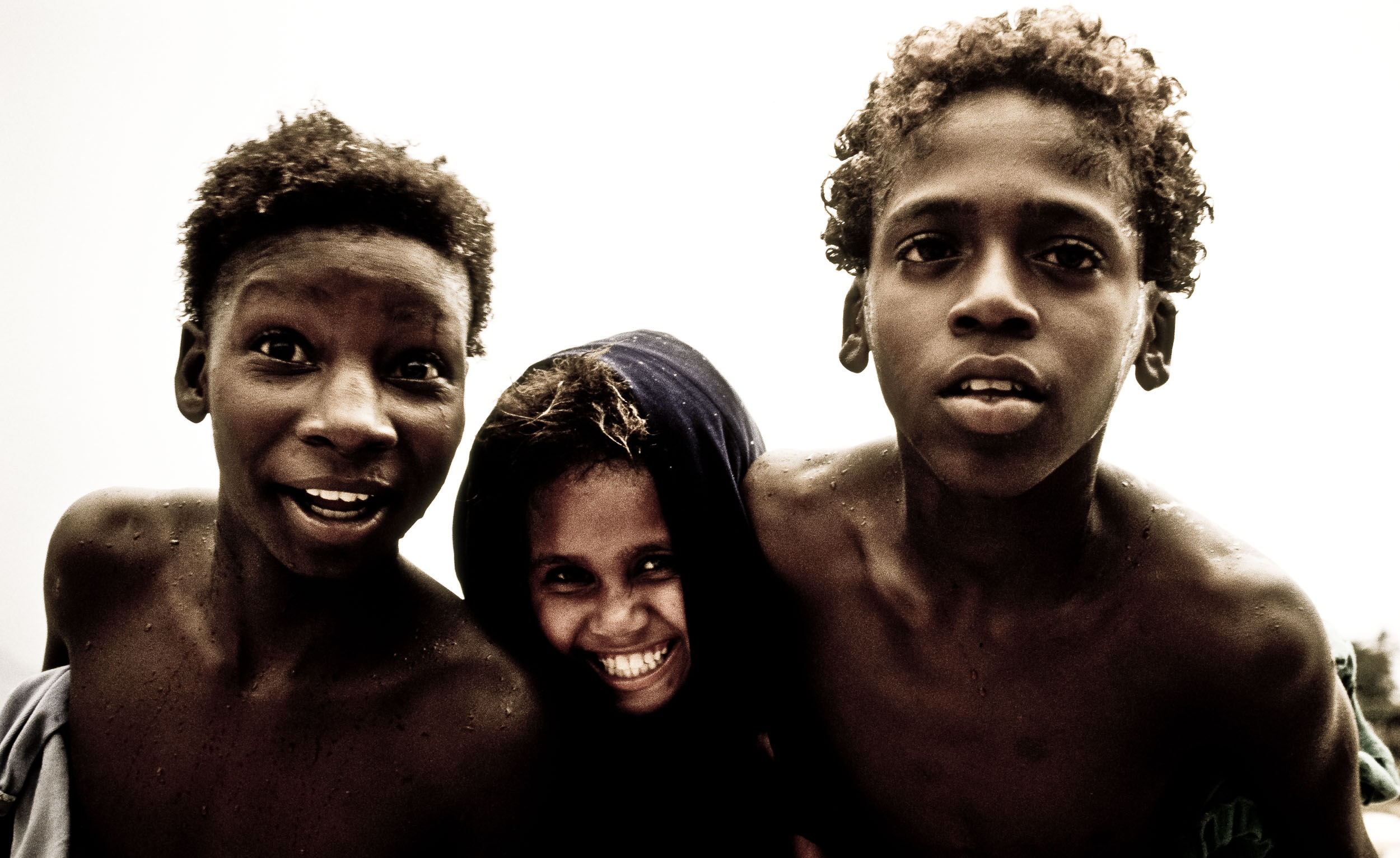 Friends from the favela, Rio, Brazil. From Jed Share